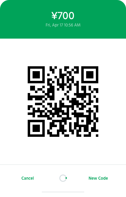 Use QR Codes to Accept Alipay